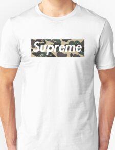 Supreme X Bape Camo T-Shirt