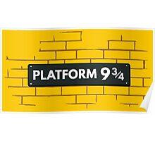 Platform 9 3/4 Poster