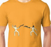 Shotgun Vs. Sniper (You're doing it wrong) Unisex T-Shirt