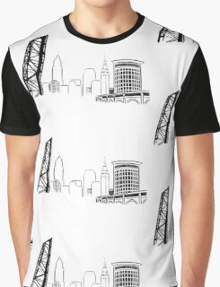 CLE Skyline Graphic T-Shirt