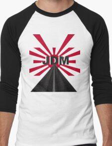 JDM Red Sun Men's Baseball ¾ T-Shirt