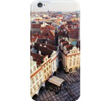 Red rooftops of Prague iPhone Case/Skin