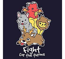 Fight for the throne Photographic Print