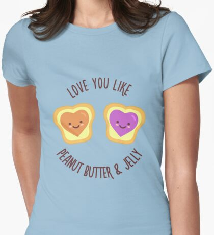 Sweet Lovers Womens Fitted T-Shirt
