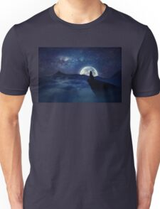 lonely wolf Unisex T-Shirt