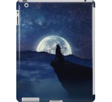 lonely wolf iPad Case/Skin