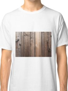 Weathered fence wood Classic T-Shirt