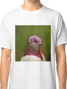 Head with hummingbird crown Classic T-Shirt