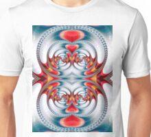 Mirrored spirals Unisex T-Shirt