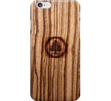 Wood Grain ~ Tree Burn iPhone Case/Skin