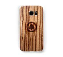 Wood Grain ~ Tree Burn Samsung Galaxy Case/Skin