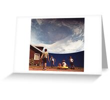 Planet Suburbia Greeting Card