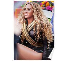 Beyoncé SuperBowl 2016  Poster