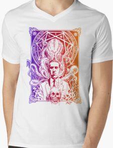 Cthulhu Howard Phillips Lovecraft HP historical society  Mens V-Neck T-Shirt
