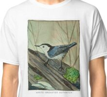 White-breasted Nuthatch Classic T-Shirt