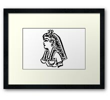 Lady of the Nile Framed Print