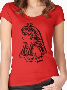 Lady of the Nile Women's Fitted Scoop T-Shirt