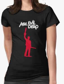 Old Man Ash II Womens Fitted T-Shirt