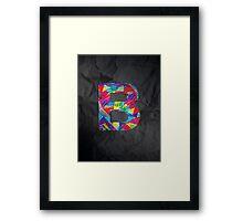 Fun Letter - B Framed Print