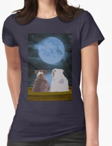 Moon River Womens Fitted T-Shirt