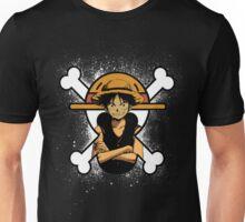 STRAW HAT SPLATTER Unisex T-Shirt