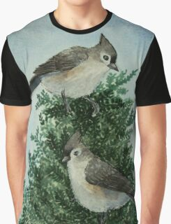 Tufted Titmice Graphic T-Shirt