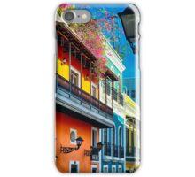 Colors of Old San Juan I iPhone Case/Skin