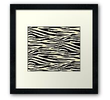 0047 Blond Tiger Framed Print