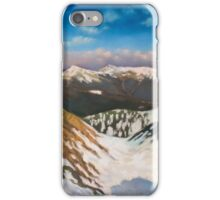 In the Mountains iPhone Case/Skin