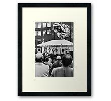 Toronto street scene  Framed Print