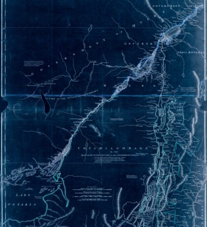 American Revolutionary War Era Maps 1750-1786 937 The provinces of New York and New Jersey with part of Pensilvania and the government's of Trois Rivières and Inverted Sticker
