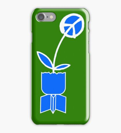 Peace, Not Plutonium iPhone Case/Skin