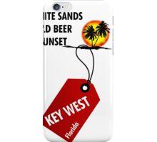 Key West Sunset iPhone Case/Skin