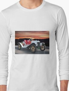 1924 Ford Model T Speedster 'Pass Side' Long Sleeve T-Shirt