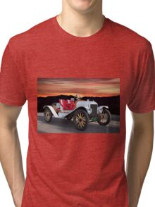 1924 Ford Model T Speedster 'Pass Side' Tri-blend T-Shirt
