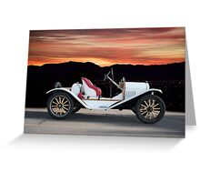1924 Ford Model T Speedster 'Profile' Greeting Card