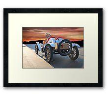 1924 Ford Model T Speedster 'Rear View' Framed Print