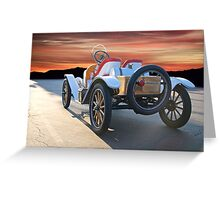 1924 Ford Model T Speedster 'Rear View' Greeting Card