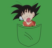 Pocket Saiyan One Piece - Short Sleeve
