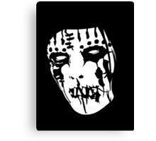 Joey Jordison's Mask Canvas Print