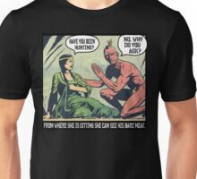 Humorous Vintage Comics- Bear Meat Joke Unisex T-Shirt