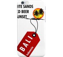 Bali Sunset Beach iPhone Case/Skin