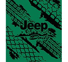 Jeep daily black Photographic Print