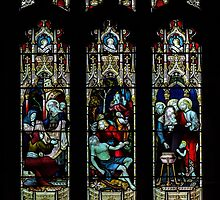 St Mary church-stained glass1  by jasminewang