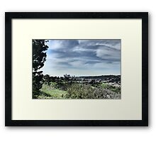Los Angeles View Framed Print