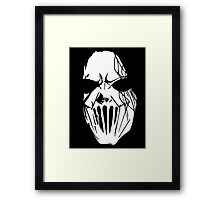 Mic Thompson's Mask Framed Print