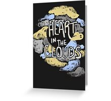 Heart in the Clouds Greeting Card