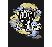 Heart in the Clouds Photographic Print