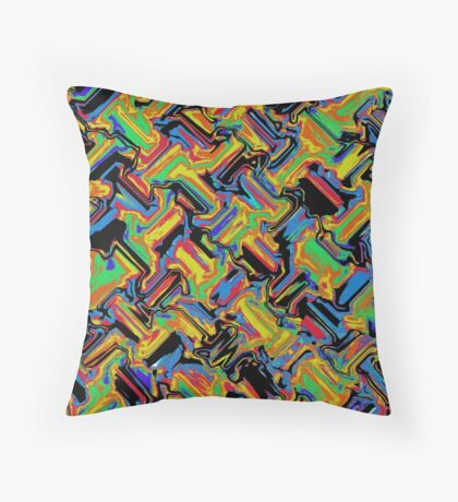 Primary & Secondary Design 2N Throw Pillow