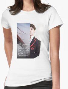 Dark Side Blaine/Darren Womens Fitted T-Shirt